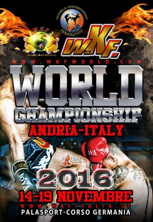 2016.11.14 WKF World Championships Andria