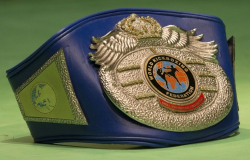 MMA continental title belt